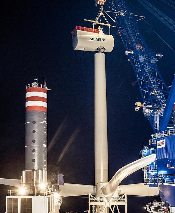 строительство ветрогенераторной станции в офшоре